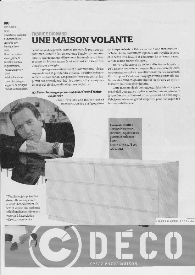 C DECO – Fabrice Diomard – LAutre Maison – Decorateur dinterieur Paris –