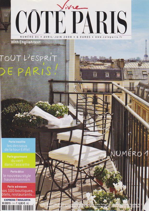 Cote Paris – Fabrice Diomard – LAutre Maison – Decorateur dinterieur Paris