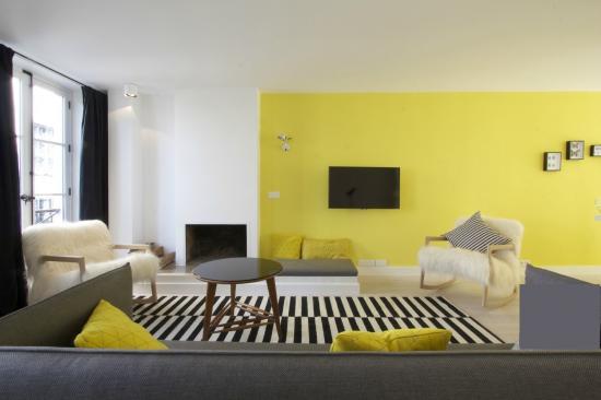 Esprit scandinave d coration appartement paris l 39 autre for Maison scandinave paris