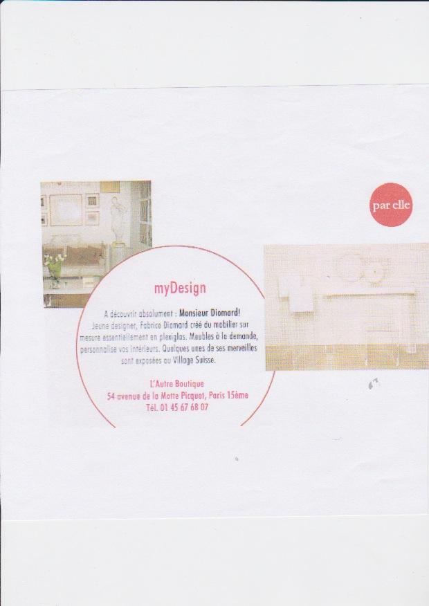 My Design – Fabrice Diomard – LAutre Maison – Decorateur dinterieur Paris