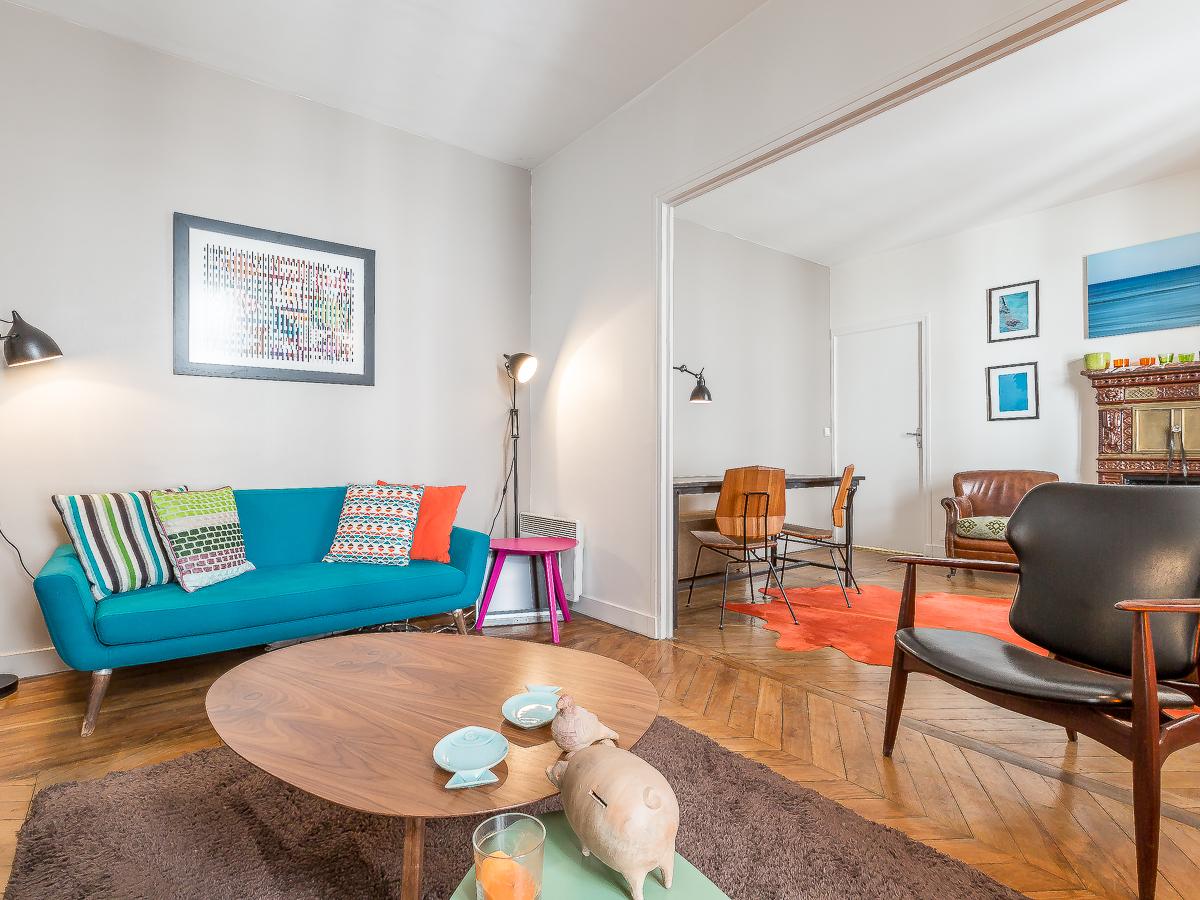 rue de rivoli d coration d appartement paris 4 l 39 autre maison. Black Bedroom Furniture Sets. Home Design Ideas
