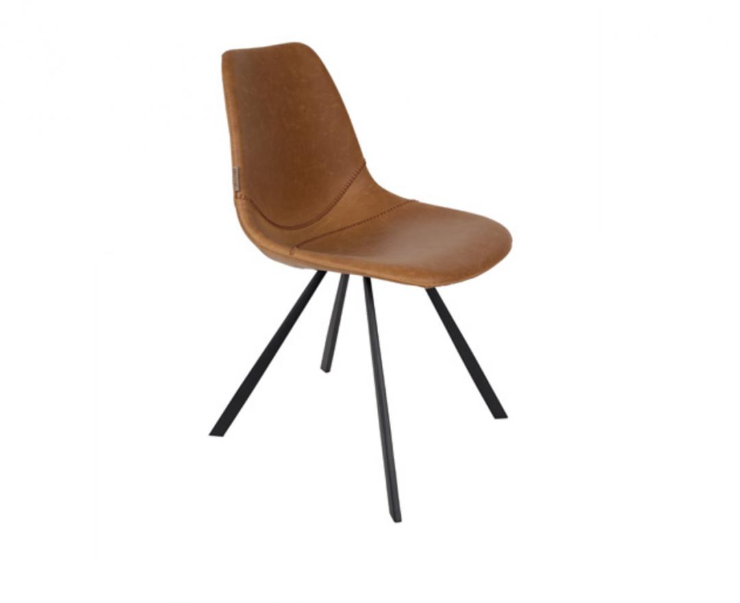 chaise cuir vintage lm 3 - Chaise Cuir Vintage